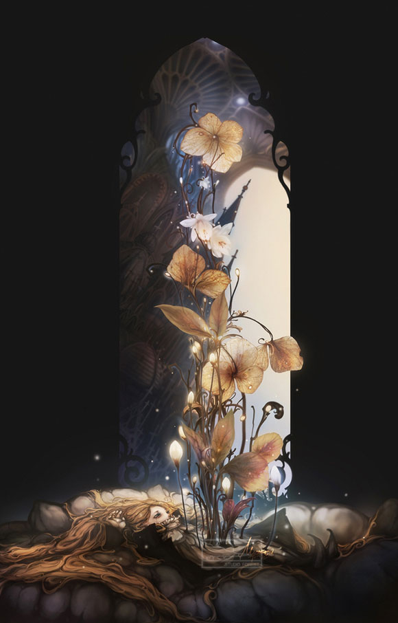 Summer Flower, Waking Dream - Jie He
