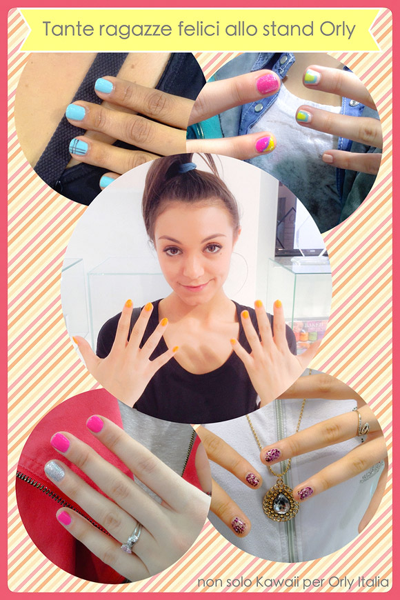 non solo Kawaii Orly Cosmoprof 2014 - Orly Girls