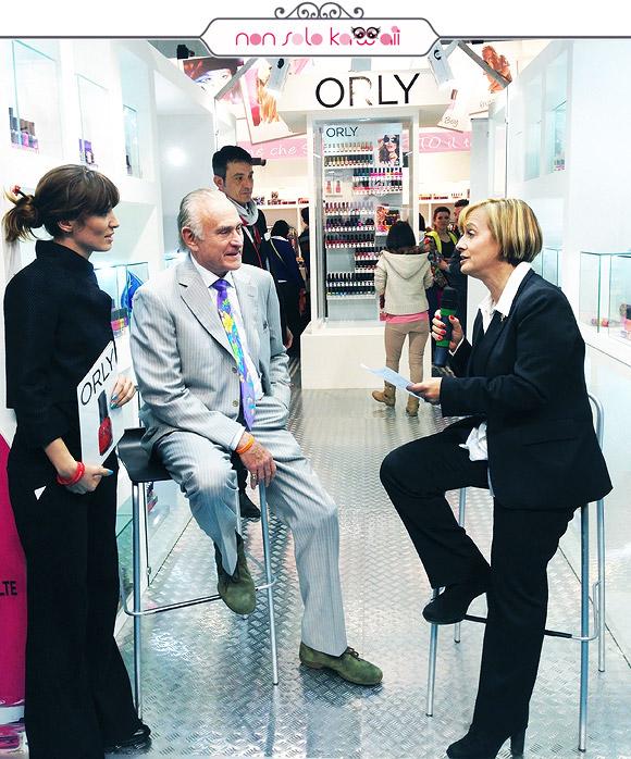 non solo Kawaii Orly Cosmoprof 2014 - Libera Ciccomascolo intervista Jeff Pink