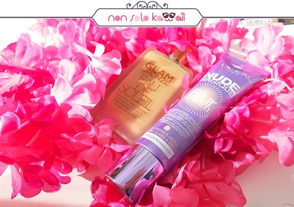Glam Bronze Eau de Soleil, Nude Magique Blur Cream, non solo Kawaii - L'Oréal Paris #SummerExplosion