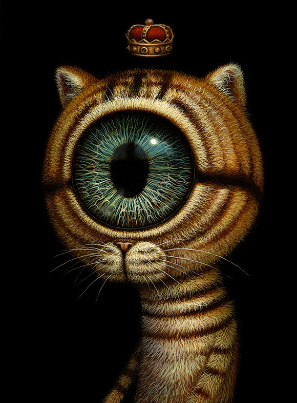 Naoto Hattori, King Eyecat - Nothing But Perception at Dorothy Circus Gallery