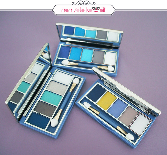 non solo Kawaii - Pupa Navy Chic Collection, Vamp! Compact Eyeshadow Palette 001 Sunny, 002 Atoll, 003 Oversea