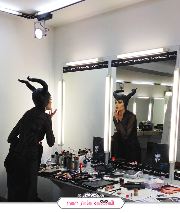 non solo Kawaii - Maleficent, Italian Première - Backstage with MAC Cosmetics | Prima Italiana di Maleficent - Backstage con MAC Cosmetics