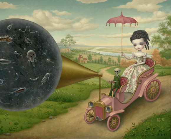 Mark Ryden, The Cone of Memory, 2012 - The Gay 90's West