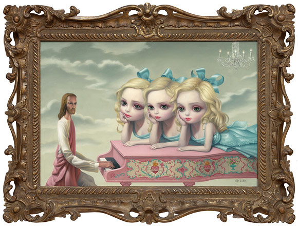 Mark Ryden, The Piano Man, 2006 - The Gay 90's West
