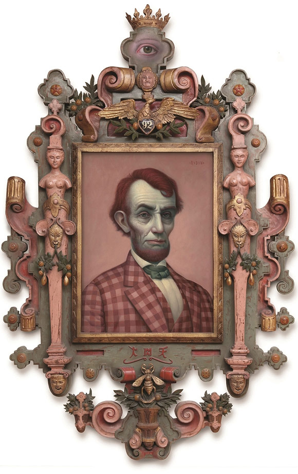 Mark Ryden, Pink Lincoln, 2010 - The Gay 90's West