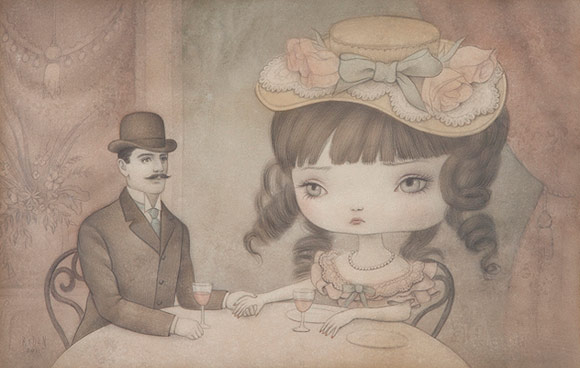 Mark Ryden, Sweetheart, 2011 - The Gay 90's West