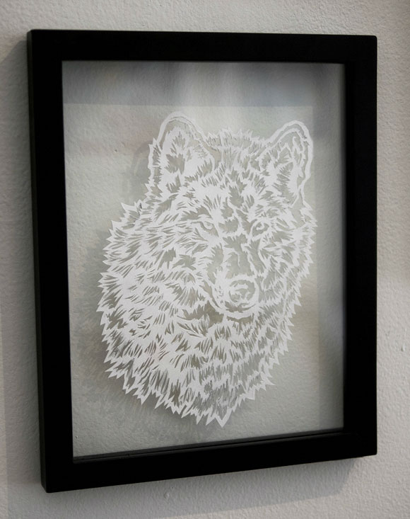 Elaine Penwell, Solitude - Paper Cuts at Spoke Art