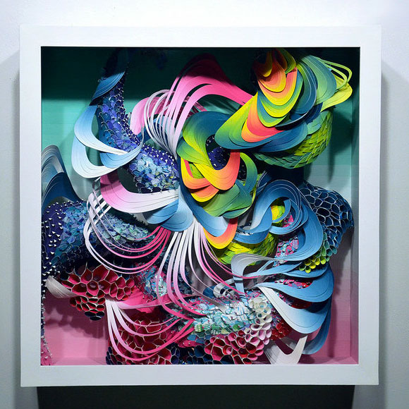 Crystal Wagner, Spectrum: Bio Interloper VII - Paper Cuts at Spoke Art