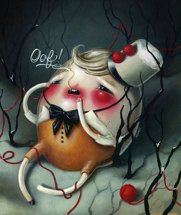 Brandi Milne, Broken | Here Inside My Broken Heart, Corey Helford Gallery