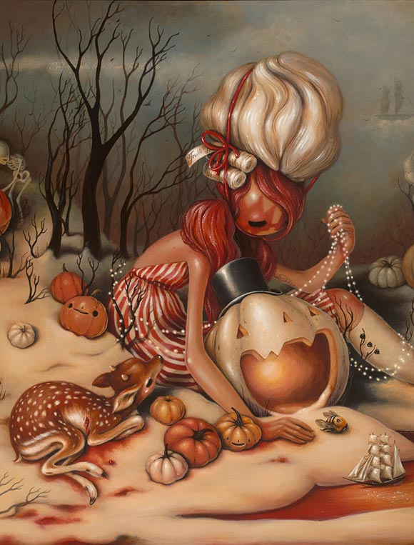 Brandi Milne, Here Inside My Broken Heart | Here Inside My Broken Heart, Corey Helford Gallery