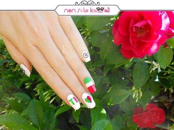 non solo Kawaii per Collistar: Ti Amo Italia Nail Art