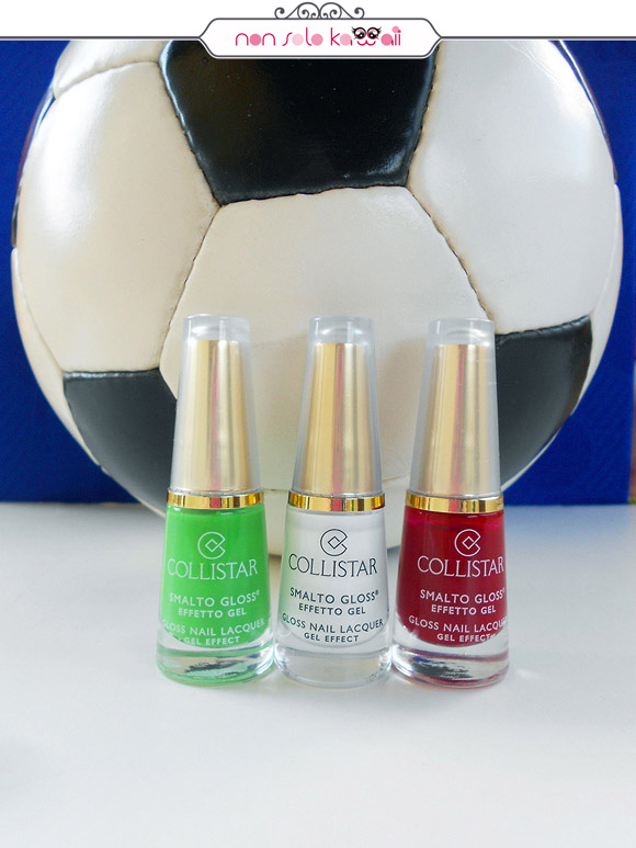 non solo Kawaii per Collistar: Italia's Reverse Flag Nail Polishes