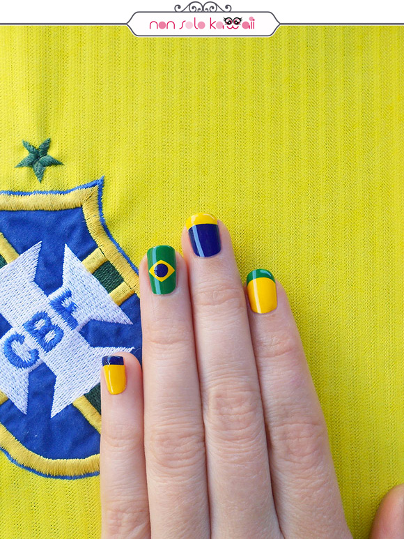non solo Kawaii per Collistar: Brazil Colors Nail Art