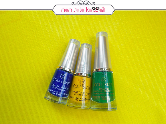 non solo Kawaii per Collistar: Brazil Colors Nail Polishes