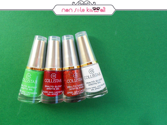 non solo Kawaii per Collistar: Italian Heart Beats Nail Polishes
