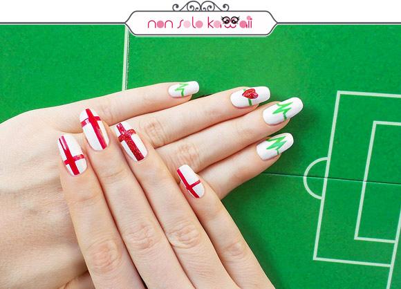 non solo Kawaii per Collistar: Italia vs. England Nail Art