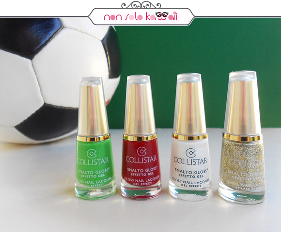 non solo Kawaii per Collistar: Italia Gold Heart Nail Polishes