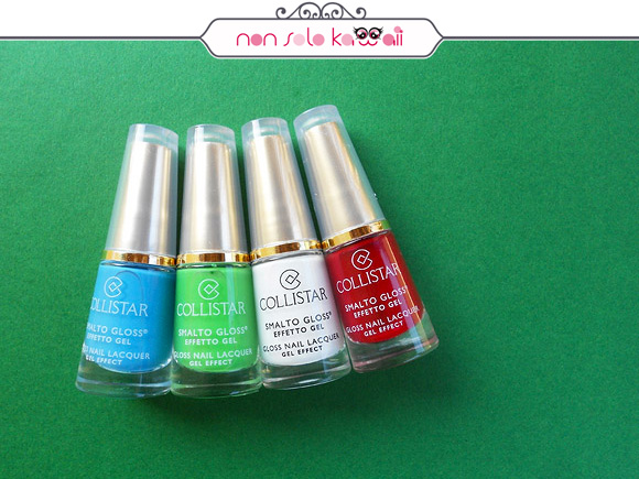 non solo Kawaii per Collistar: Italia Rainbow Nail Polishes