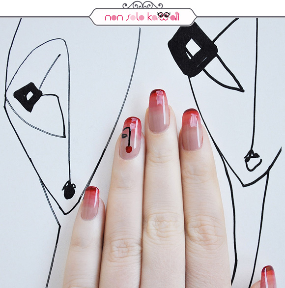 non solo Kawaii - Nail Arts for Grazia.it, Neo Figurativo