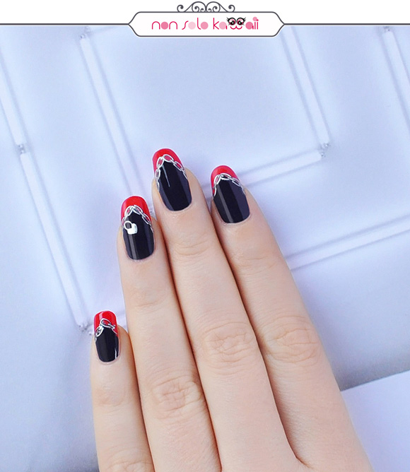 non solo Kawaii - Nail Arts for Grazia.it, Rebel