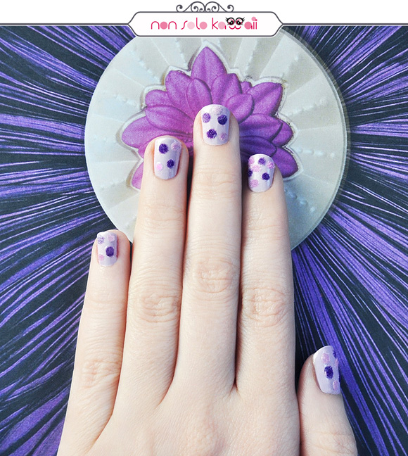 non solo Kawaii - Nail Arts for Grazia.it, Fluffy Polka Dot