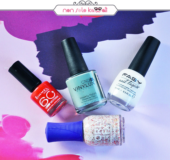 non solo Kawaii - Nail Arts for Grazia.it, Folk