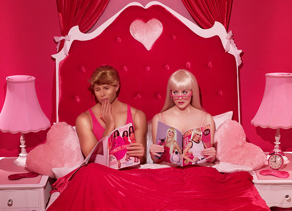 Dina Goldstein, Bedroom Magazines - In The Dollhouse