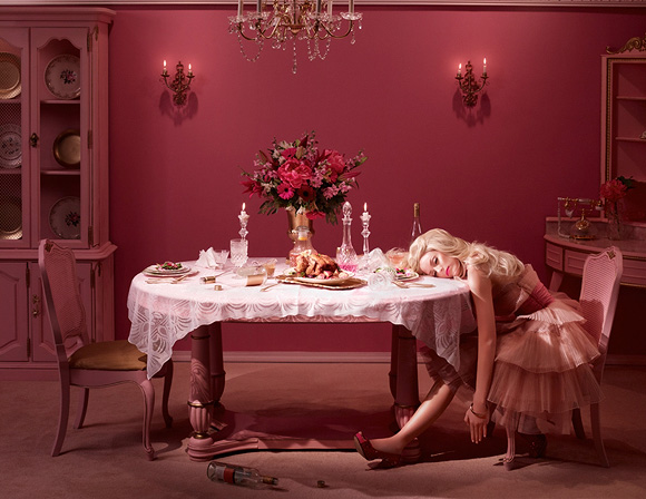 Dina Goldstein, Passed Out - In The Dollhouse