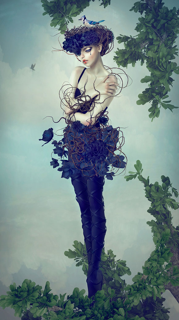 Natalie Shau, Hiding Place - Forgotten Heroines at Last Rites Gallery