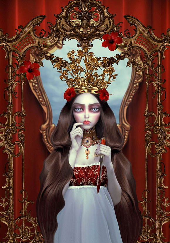 Natalie Shau, Lady Macbeth - Forgotten Heroines at Last Rites Gallery