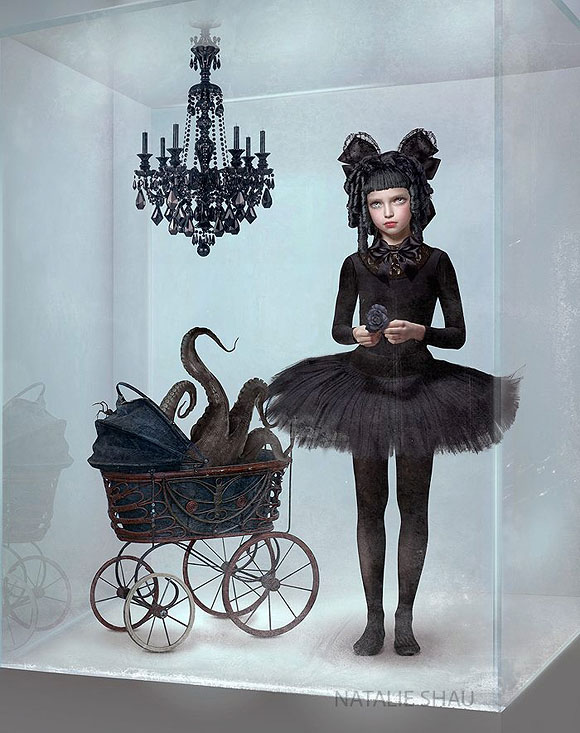 Natalie Shau, Lost Girl - Forgotten Heroines at Last Rites Gallery