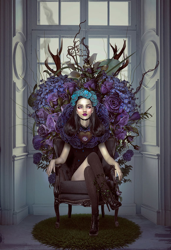 Natalie Shau, Secret Bloom - Forgotten Heroines at Last Rites Gallery