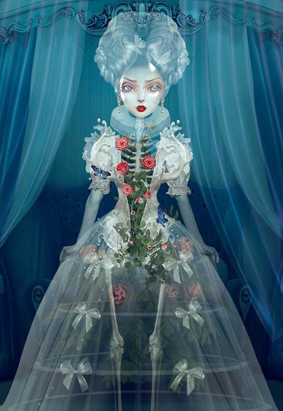 Natalie Shau, Vanessa - Forgotten Heroines at Last Rites Gallery