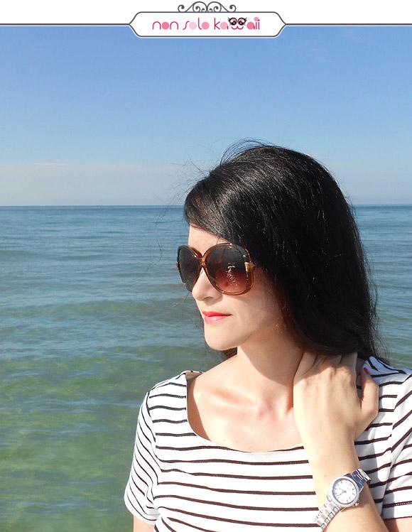 non solo Kawaii | Angela wearing Casio Sheen Ceramic SHE-4512D-2AUER