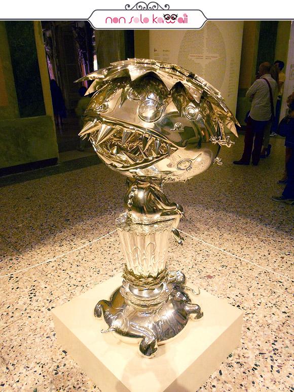 Oval Buddha Silver - Il Ciclo di Arhat, Takashi Murakami | Palazzo Reale
