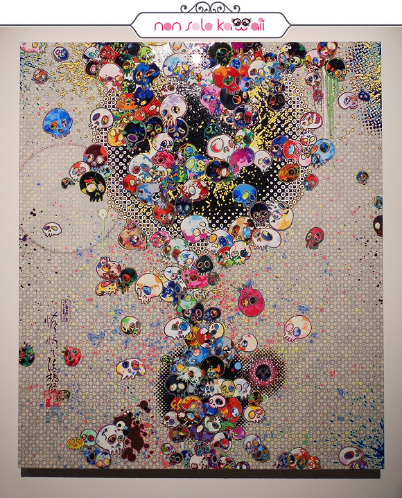 When I Yearn for The Day Past, 2014 - Il Ciclo di Arhat, Takashi Murakami | Palazzo Reale