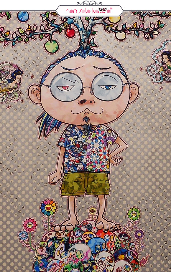 Cosmic Truth, 2014 - Il Ciclo di Arhat, Takashi Murakami | Palazzo Reale