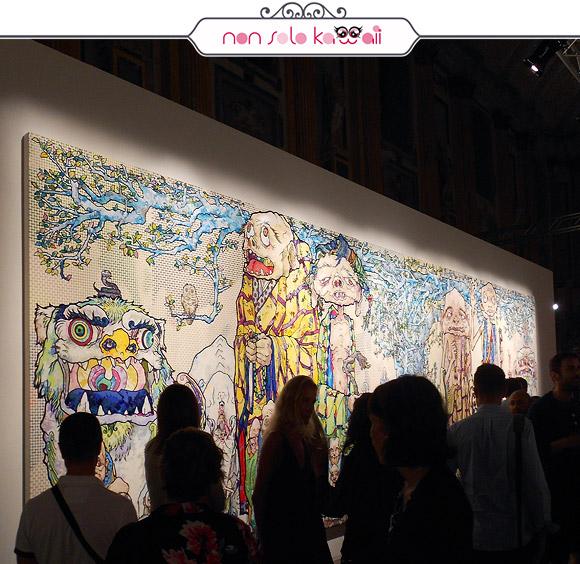 69 Arhats Beneath the Bodhi Tree, 2013 - Il Ciclo di Arhat, Takashi Murakami | Palazzo Reale
