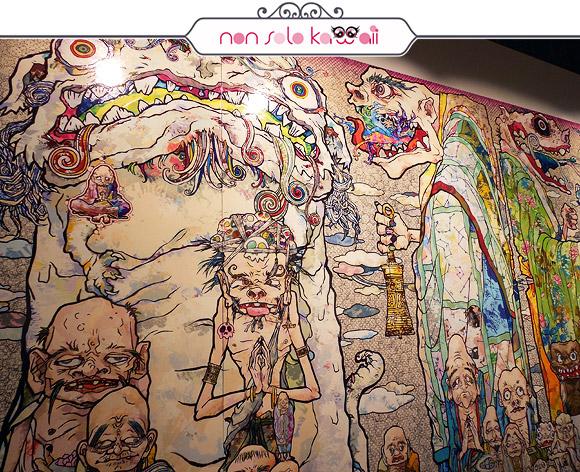 100 Arhats, 2013 - Il Ciclo di Arhat, Takashi Murakami | Palazzo Reale