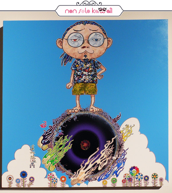 <br /> Standing on the Bridge Linking Space and Time, 2014 - Il Ciclo di Arhat, Takashi Murakami | Palazzo Reale