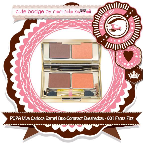 non solo Kawaii - Pupa Viva Carioca Vamp! Duo Compact Eyeshadow, 001 Fanta Fizz
