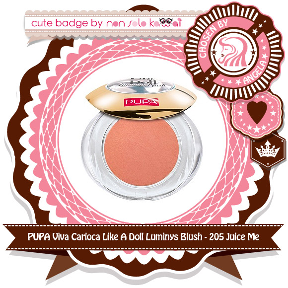 non solo Kawaii - Pupa Viva Carioca Like A Doll Luminys Blush, 205 Juice Me