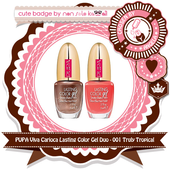 non solo Kawaii - Pupa Viva Carioca Lasting Color Gel Duo, 001 Truly Tropical