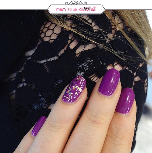 non solo Kawaii - Pupa Milano Paris Experience, Lasting Color Gel 091 Lilac + Mosaic Silver