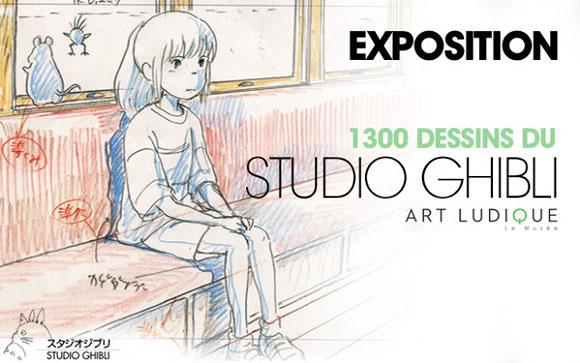 Dessins du Studio Ghibli: les secrets du Layout pour comprendere l'animation de Takahata et Miyazaki | Art Ludique, Paris