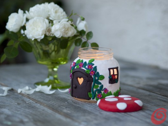 Focus on: Mushrooms & DIY, Funghi, Funghetti e Fai da te - Candle Holder Portacandela
