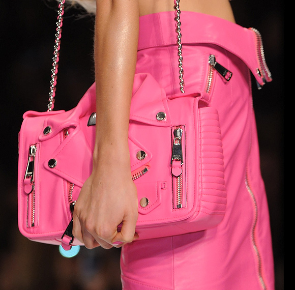 Moschino - Think Pink, Spring Summer Collection 2015, Pink Jacket Bag, Borsa Rosa Giacca