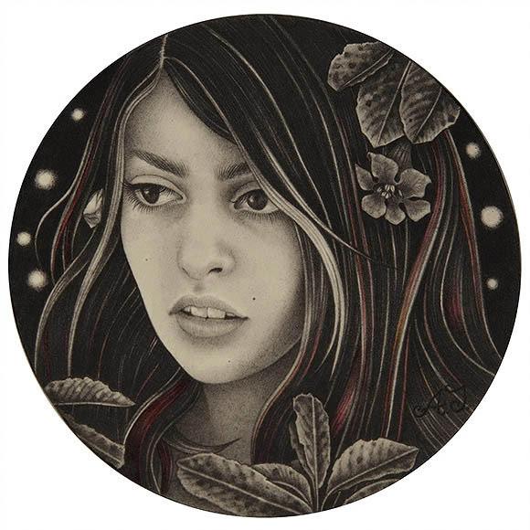 Alessia Iannetti – Lieve | The Coaster Show 2014, La Luz De Jesus Gallery