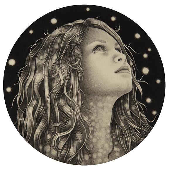 Alessia Iannetti – Poltergeist | The Coaster Show 2014, La Luz De Jesus Gallery